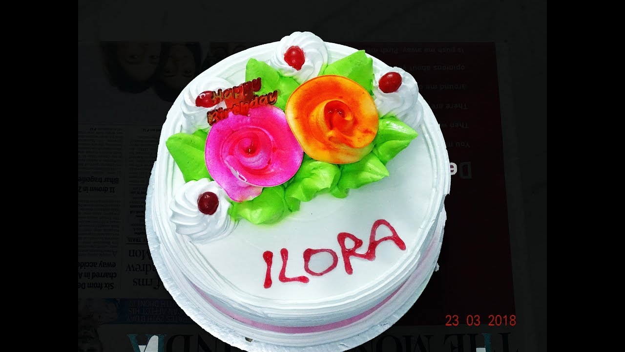 41st Happy Birthday Cake Of Ilora Mandal As On 23 03 2018 Ultra Hd