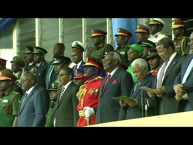 Wimbo wa Mashujaa ulivyonogesha sherehe za Miaka 54 ya Mapinduzi Zanzibar