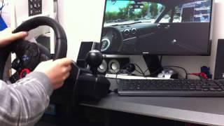 city car driving #audiTT #logitech driving force gt