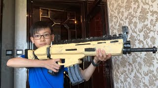 Fortnite Scar cosplay prop (legendary scar IRL)