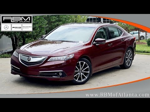 Used 2015 Acura TLX V6 Advance ATLANTA, GA U13832A SOLD!