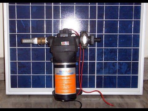 House Solar Water Pump - Working Prototype