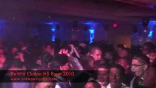 DeWitt Clinton HS Prom 2010 - Toro Party DJs - Bronx, NYC