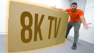 Samsung Sent me a Majedaar Box ! *8K TV*