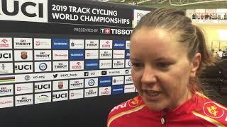 Trine Schmidt om sit pointløb ved VM 2019
