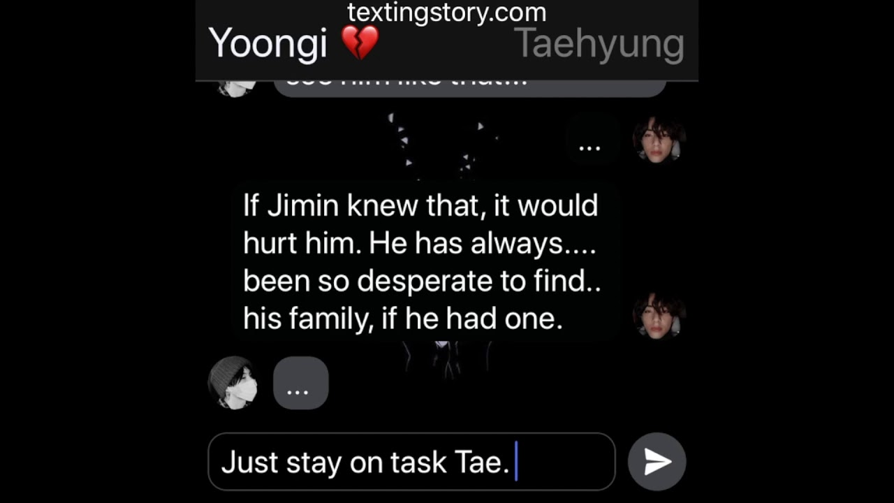 """BloodBlossom: (Jikook Texting Story) EP19 """"The Greater Good?"""""""