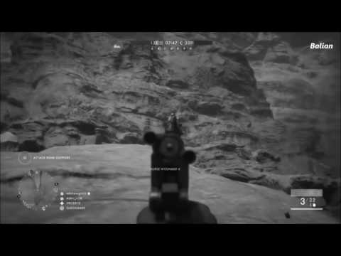 BF1 Plane takes out horse - Baz Edition