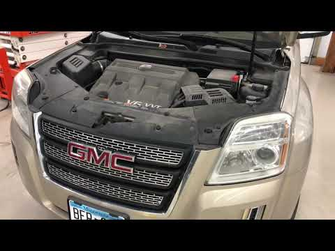 GMC Terrain main battery replacement DIY