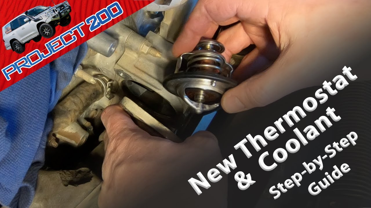 LandCruiser 200 How To: Replace thermostat and coolant
