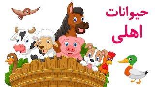 🐮Farm Animals in Farsi/Persian   حیوانات اهلی   صدای حیوانات