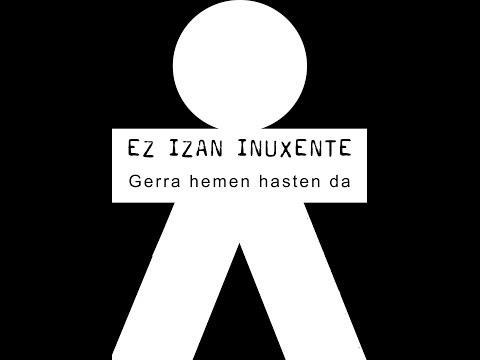 """""""INUXENTE"""" izan nahi ez duten antimilitaristak (Bilbao, 2013-12-28)"""