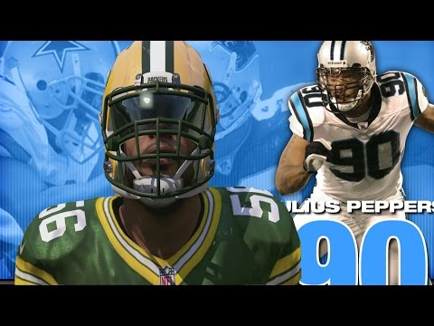 JULIUS PEPPERS THROUGH THE YEARS! NCAA FOOTBALL 2000 - MADDEN 17