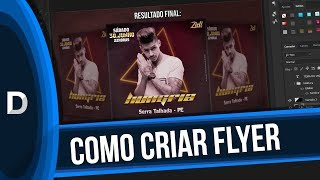TUTORIAL: COMO CRIAR FLYER NO PHOTOSHOP