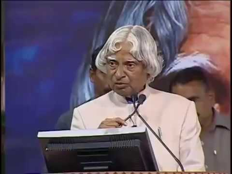 Abdul kalam's comment on last bench students