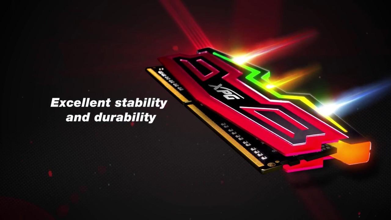 XPG SPECTRIX D40 DDR4 RGB Memory Module_XPG_Xtreme Performance Gear