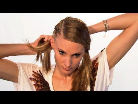 Hairstyle: Rockiger Undercut für eine Nacht ★ Haul Sisters - Tini