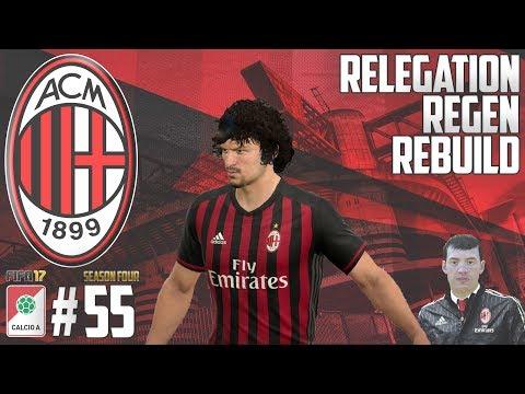 NEW KIDS SHINE! - Relegation Regen Rebuild - Fifa 17 AC Milan Career Mode - Episode 55