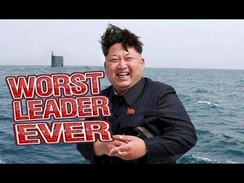Kim Jong Un EATS EVERYTHING - WORST LEADER EVER