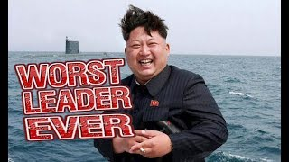 Kim Jong Un EATS EVERYTHING - WORST LEADER EVER