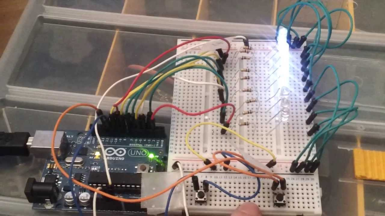 arduino project led stair lights proof of concept youtube