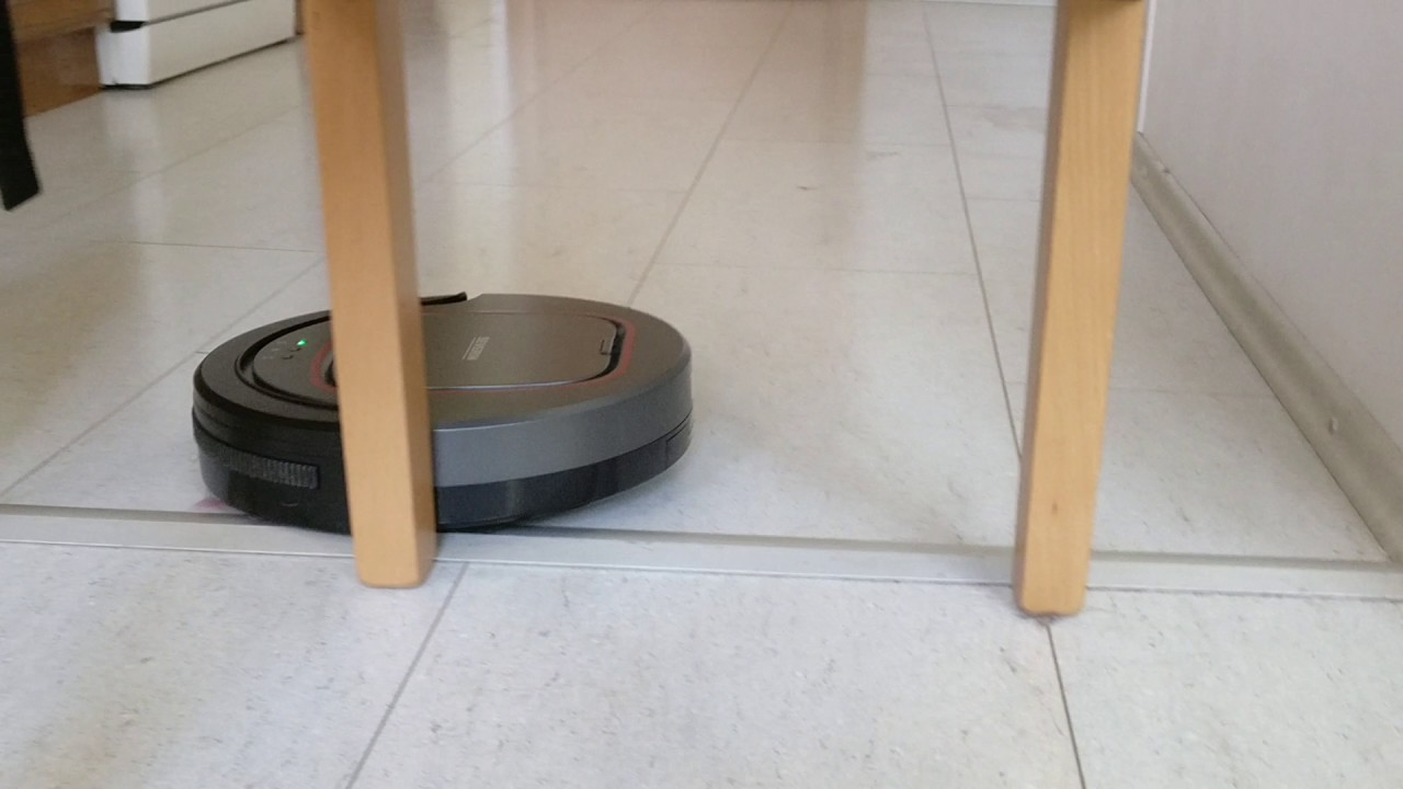 Severin Chill In Action Cheap Dumb Robot Vacuum Avoiding Chair