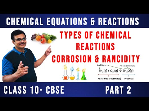 Types Of Chemical Reaction | Chemical Equations & Reactions | CLASS 10 CBSE | PART 2
