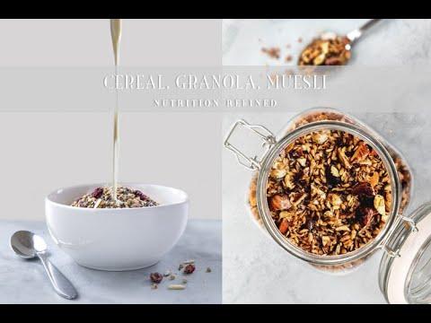 High-Protein Cereal, Granola & Muesli | Grain-Free, Nut-Free, Sugar-Free