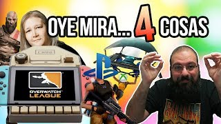 Oye mira 4 cosas - Nintendo Labo, Overwatch League y Youporn, Fortnite crossplay again, Seasons Pass