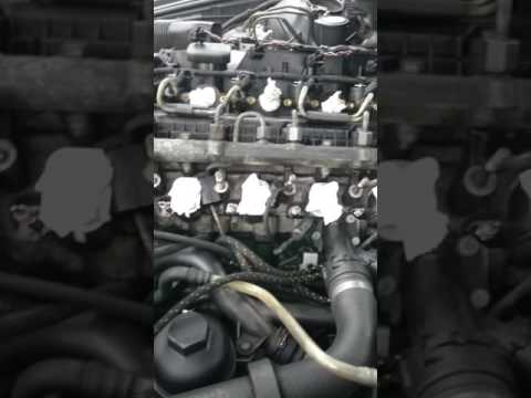m57 engine problem, how to remove injector, no compression ...