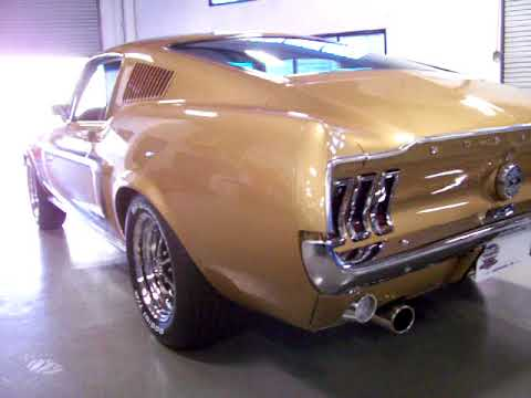 2017 Ford Mustang For Sale >> 1968 Ford Mustang Fastback J code 4 speed Sunlit Gold FOR