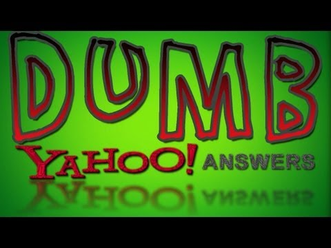 Dumb Yahoo Answers -  ICE IN BELLY BUTTON!