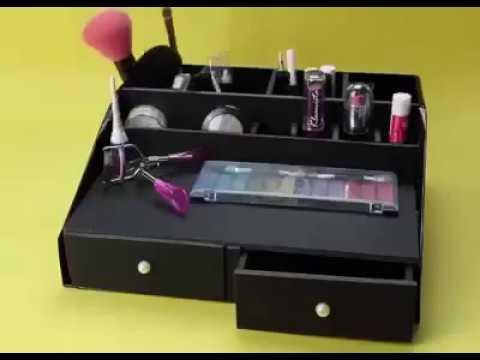 Органайзеры для косметики из коробок своими руками 151