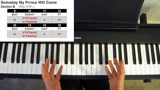 Someday My Prince Will Come Harmonic Analysis Youtube