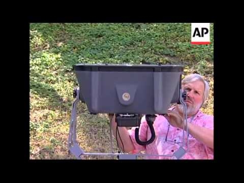 Acoustic device deters enemies with ear-splitting noise