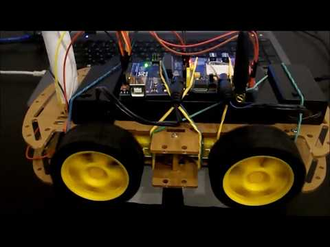 Arduino Internet (GSM/GPRS SIM900) Control Car With Camera