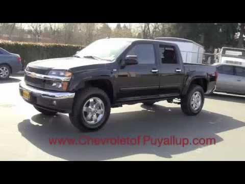 Chevrolet Colorado Z71 >> 2011 Chevy Colorado Dealer Review Chevrolet of Puyallup, WA - YouTube