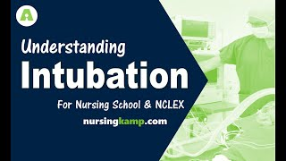 What is Intubation Ventilators NCLEX intubating Vents co2 detector intubating  NCLEX review 2019
