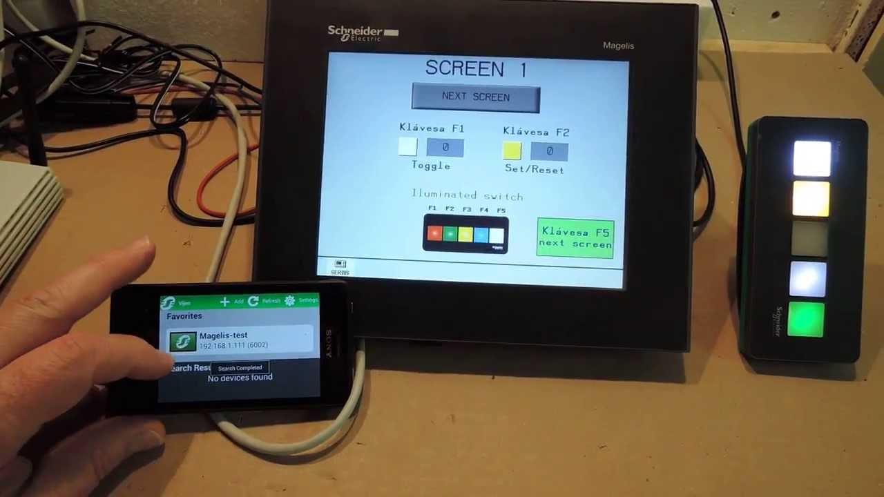 Vijeo Design Air Aplikace Pro Smart Zař 237 Zen 237 A Hmi Magelis