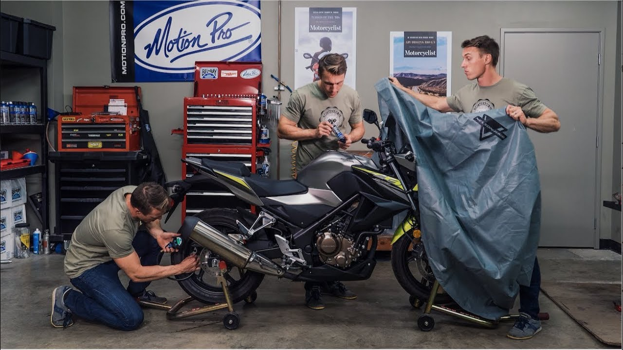 How to winterize your motorcycle mc garage youtube for Garage mc moissy