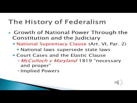The History of Federalism wmv
