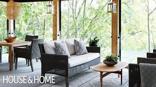 Tour An Open-concept Bungalow Flooded With Natural Light