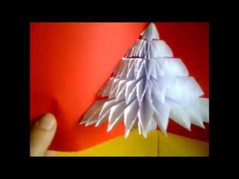 cmo hacer tarjetas de navidad con un rbol en d como fazer rvore de natal