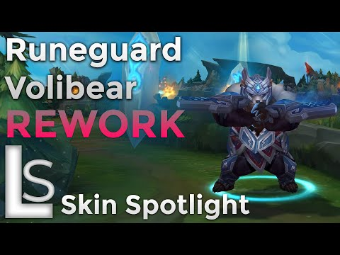 Runeguard Volibear REWORK - Skin Spotlight - Collection - League of Legends