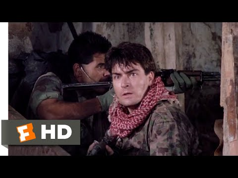 Navy SEALS (1990) - A Fiery Rescue Scene (9/11) | Movieclips