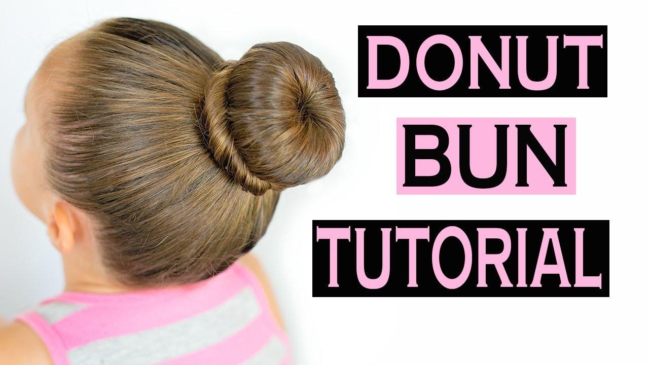 how to do hair donut bun