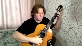 Вечный огонь (От героев былых времён...), из к/ф «Офицеры» - аранжировка для гитары.