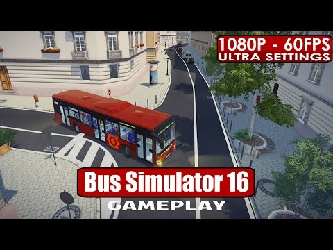 Bus Simulator 16 gameplay PC HD [1080p/60fps] |