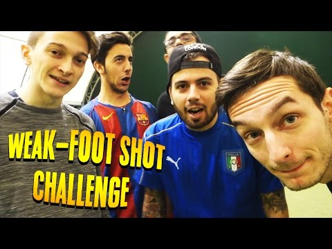 WEAK-FOOT SHOT CHALLENGE - TIRO AD EFFETTO CHALLENGE