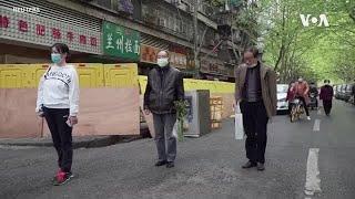 武汉解封市民恢复正常生活同时悼念死难同胞