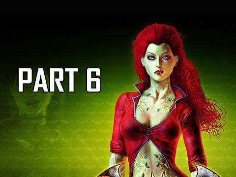 Batman Arkham Asylum Walkthrough Part 6 - Poison Ivy (Return to Arkham Remaster Gameplay)